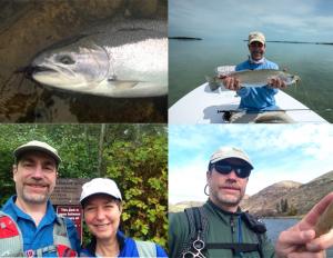 Skagit Steel, Islamorada Gator Trout, Rattlesnake through hike, Yakima Tenkara