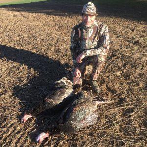 First turkeys!